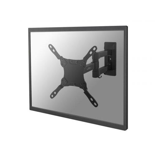 "NewStar NeoMounts TV/Monitor Wall Mount (Full Motion) for 10""-32"" Screen - Black - Wall mount for LCD display (Tilt &Swivel) - black - screen size: 10""-32"""