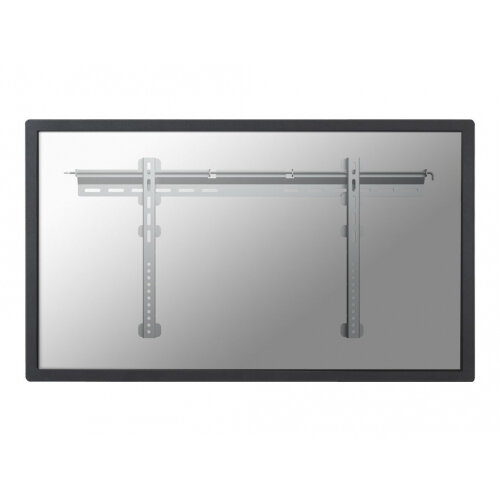 "NewStar TV/Monitor Ultrathin Wall Mount (fixed) for 37-75"" Screen - Silver - Wall mount for LCD / plasma panel - silver - screen size: 37""-75"""