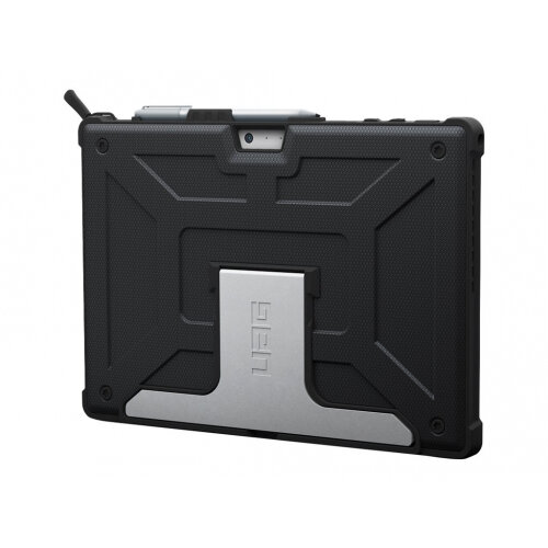 UAG Rugged Case for Surface Pro, Surface Pro 4, &Surface Pro LTE - Black - Case for tablet - black - for Microsoft Surface Pro (Mid 2017), Pro 4