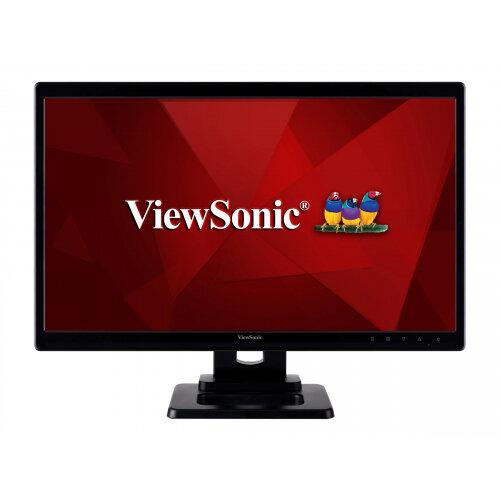 """ViewSonic TD2220-2 - LED Computer Monitor - 22"""" (21.5"""" viewable) - touchscreen - 1920 x 1080 Full HD (1080p) - 200 cd/m² - 1000:1 - 5 ms - DVI-D, VGA - black"""