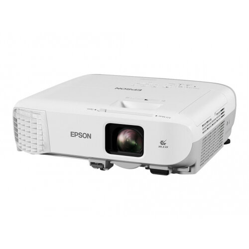 Epson EB-970 - 3LCD Multimedia Projector - 4000 lumens (white) - 4000 lumens (colour) - XGA (1024 x 768) - 4:3 - LAN
