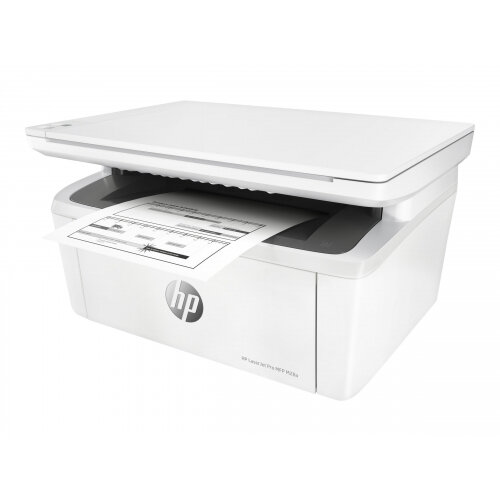 HP LaserJet Pro MFP M28a - Multifunction printer - B/W - laser - 216 x 297 mm (original) - A4 (media) - up to 18 ppm (copying) - up to 18 ppm (printing) - 150 sheets - USB 2.0