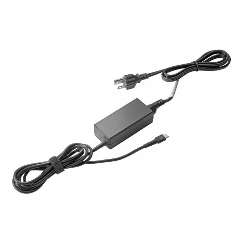 HP USB-C G2 - Power adapter - AC - 45 Watt - United Kingdom - for Chromebook x360 11 G1; Elite x2 1012 G2; MX12 Retail Solution; Pro x2 612 G2