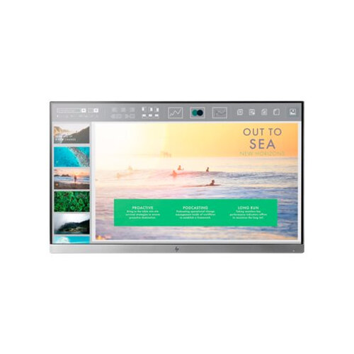 "HP EliteDisplay E233 - Head Only - LED Computer Monitor - 23"" - 1920 x 1080 Full HD (1080p) - IPS - 250 cd/m² - 1000:1 - 5 ms - HDMI, VGA, DisplayPort"