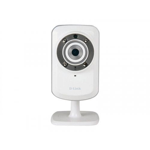 D-Link DCS 932L mydlink-enabled Wireless N IR Home Network Camera - Network surveillance camera - colour (Day&ight) - 640 x 480 - audio - wireless - Wi-Fi - LAN 10/100 - MJPEG - DC 5 V