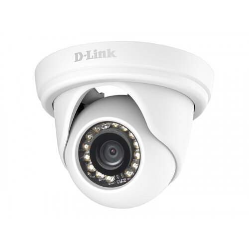 D-Link Vigilance DCS-4802E Full HD Outdoor PoE Mini Dome Camera - Network surveillance camera - pan / tilt - outdoor - vandal-proof - colour (Day&ight) - 2 MP - 1920 x 1080 - 1080p - LAN 10/100 - MJPEG, H.264 - DC 12 V