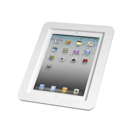"Compulocks Executive - iPad 9.7"" Wall Mount Enclosure - White - Enclosure for tablet - aluminium - white - for Apple 9.7-inch iPad Pro; iPad; iPad 2; iPad Air; iPad Air 2; iPad with Retina display"