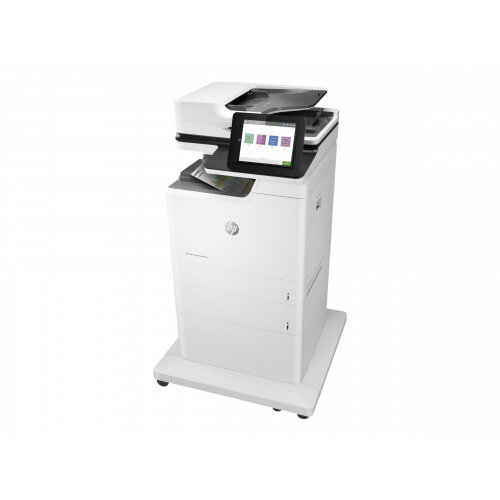HP LaserJet Enterprise MFP M681f - Multifunction printer - colour - laser - 216 x 863 mm (original) - A4/Legal (media) - up to 47 ppm (copying) - up to 47 ppm (printing) - 1200 sheets - 33.6 Kbps - USB 2.0, Gigabit LAN, USB 2.0 host