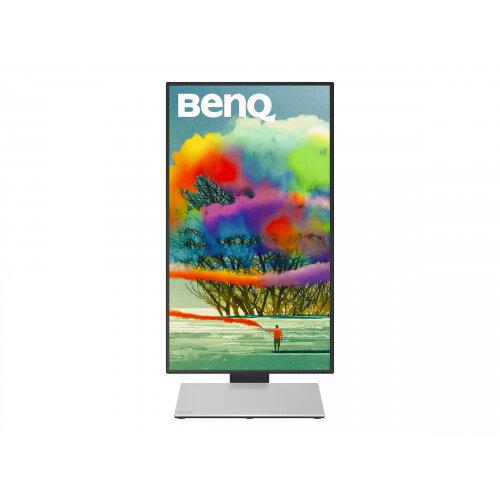 """BenQ Designer PD2710QC - LED Computer Monitor - 27"""" - 2560 x 1440 1440p (Quad HD) - IPS - 350 cd/m² - 1000:1 - 5 ms - HDMI, DisplayPort, Mini DisplayPort, USB-C - speakers - black, silver"""