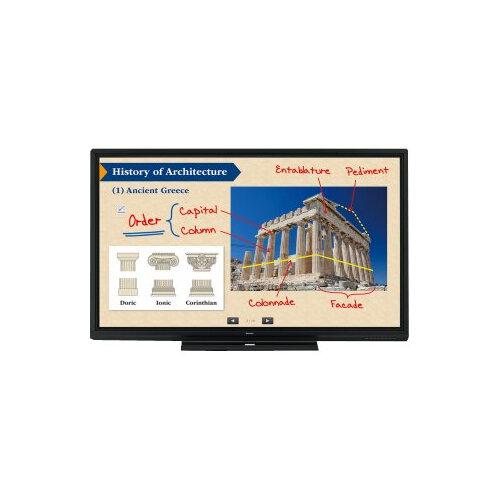 "Sharp BIG PAD PN-80SC5 - 80"" Class LED display - interactive communication - with touchscreen - 1080p (Full HD) 1920 x 1080 - edge-lit - black"