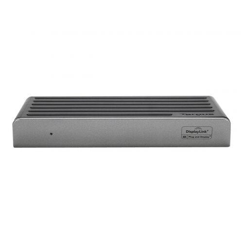 Targus Universal USB 3.0 DV4K Docking Station - Docking station - USB - GigE - 30 Watt - EU