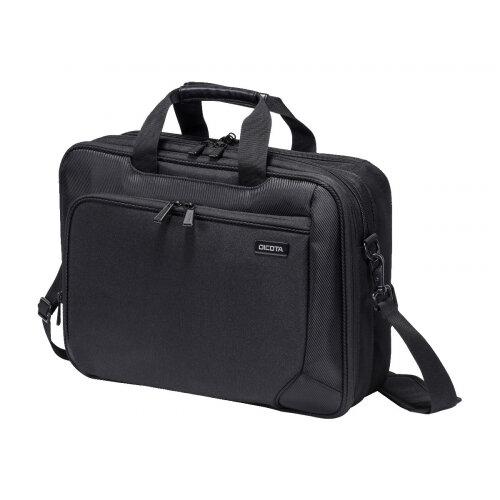 "DICOTA TopTravellerECODual Laptop Bag 15.6"" - Notebook carrying case - 15.6"" - black"