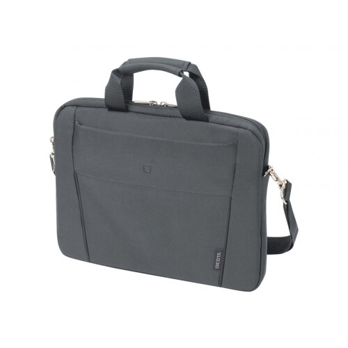 "Dicota Slim Case BASE - Notebook carrying case - Laptop Bag - 13"" - 14.1"" - grey"