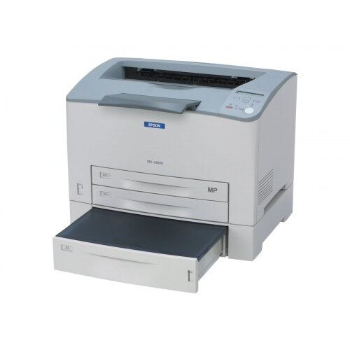 Epson EPL N2550T - Printer - monochrome - laser - 305 x 508 mm - up to 30 ppm - capacity: 950 sheets - parallel, USB, LAN