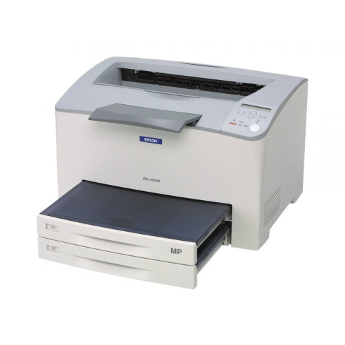Epson EPL N2550DT - Printer - monochrome - Duplex - laser - 305 x 508 mm - up to 30 ppm - capacity: 950 sheets - parallel, USB, LAN