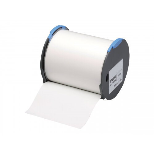Epson RC-T1WNA - Polyolefin - self-adhesive - white - Roll (10 cm x 15 m) 1 roll(s) plastic tape - for LabelWorks Pro100
