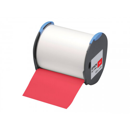 Epson RC-T1RNA - Polyolefin - self-adhesive - red - Roll (10 cm x 15 m) 1 roll(s) plastic tape - for LabelWorks Pro100
