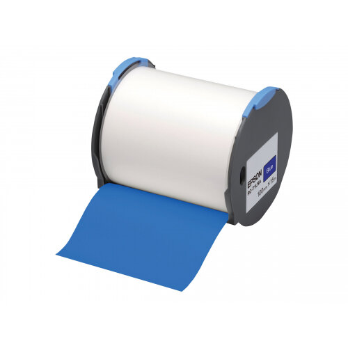 Epson RC-T1LNA - Polyolefin - self-adhesive - blue - Roll (10 cm x 15 m) 1 roll(s) plastic tape - for LabelWorks Pro100