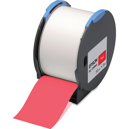 Epson RC-T5RNA - Polyolefin - self-adhesive - red - Roll (5 cm x 15 m) 1 roll(s) plastic tape - for LabelWorks Pro100