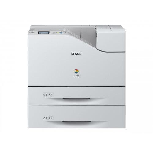 Epson WorkForce AL-C500DTN - Printer - colour - Duplex - laser - A4/Legal - up to 45 ppm (mono) / up to 45 ppm (colour) - capacity: 1250 sheets - USB, Gigabit LAN
