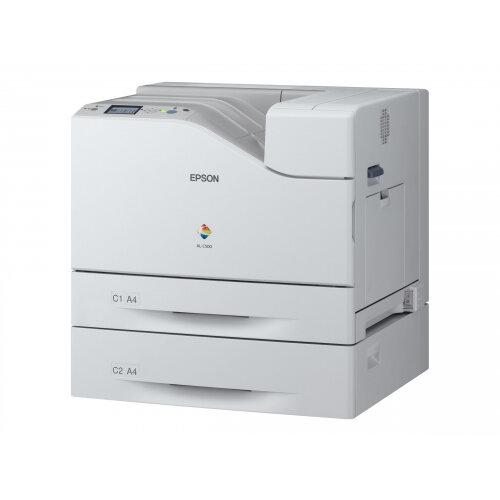 Epson WorkForce AL-C500DHN - Printer - colour - Duplex - laser - A4/Legal - up to 45 ppm (mono) / up to 45 ppm (colour) - capacity: 1800 sheets - USB, Gigabit LAN