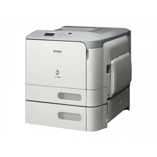 Epson WorkForce AL-C300TN - Printer - colour - laser - A4/Legal - 1200 x 1200 dpi - up to 31 ppm (mono) / up to 31 ppm (colour) - capacity: 850 sheets - USB 2.0, Gigabit LAN, USB host