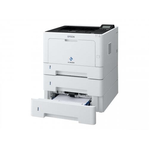 Epson WorkForce AL-M320DTN - Printer - monochrome - Duplex - laser - A4/Legal - 1200 x 1200 dpi - up to 40 ppm - capacity: 600 sheets - USB 2.0, Gigabit LAN
