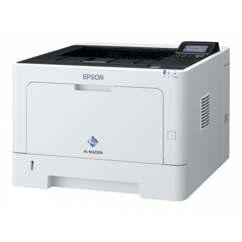 Epson WorkForce AL-M320DN - Printer - monochrome - Duplex - laser - A4/Legal - 1200 x 1200 dpi - up to 40 ppm - capacity: 350 sheets - USB 2.0, Gigabit LAN