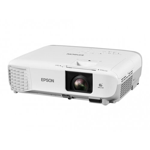 Epson EB-W39 - 3LCD Multimedia Projector - portable - 3500 lumens (white) - 3500 lumens (colour) - WXGA (1280 x 800) - 16:10 - 720p - LAN