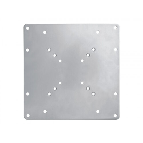 """NewStar VESA Conversion Plate from VESA 75x75mm &100x100mm to 100x200mm &200x200mm - Silver - Mounting component (adapter plate) for LCD display - silver - screen size: 22""""-42"""""""