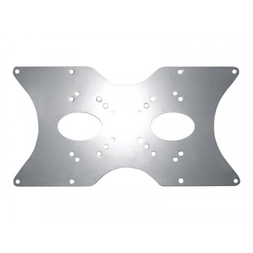"""NewStar VESA Conversion Plate from VESA 75x75mm &100x100mm to 200x100mm, 200x200mm &400x200mm - Silver - Mounting component (VESA adapter plate) for LCD / plasma panel - silver - screen size: 22""""-52"""""""