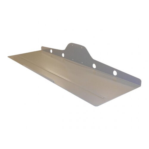 NewStar Universal Keyboard &Mouse Shelf (width: 50 cm) - Silver - Mounting component (shelf) for keyboard / mouse - silver - mounting interface: 75 x 75 mm