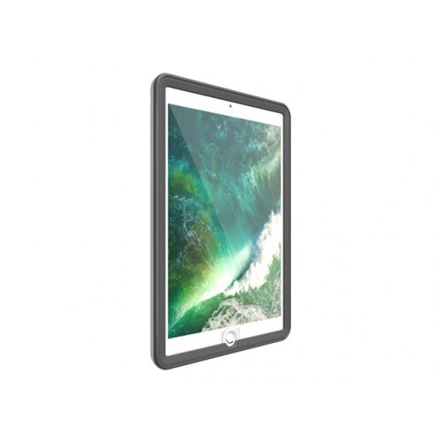 OtterBox UnlimitEd Folio - Protective case for tablet - polyurethane, polycarbonate, synthetic rubber - slate grey - for Apple 9.7-inch iPad (5th generation)