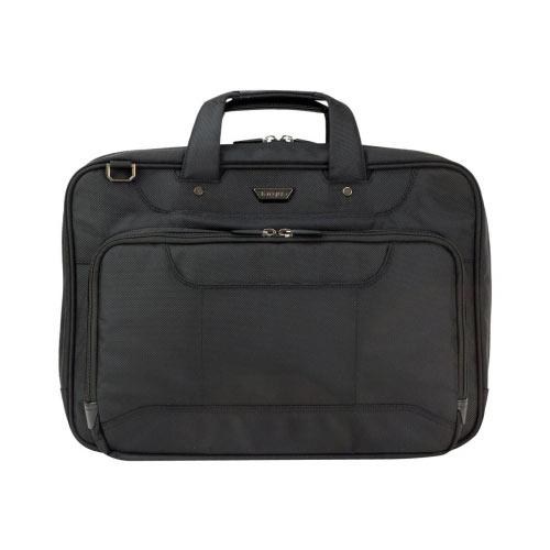 "Targus Corporate Traveler High Capacity Topload - Notebook carrying case - Laptop Bag - 15.6"" - black"