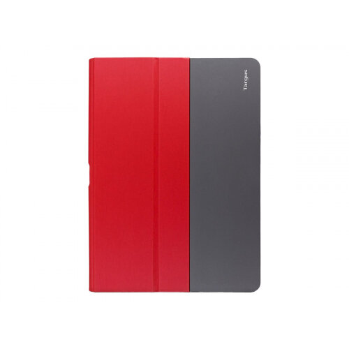 Targus Fit-N-Grip Universal - Flip cover for tablet - polyurethane - red
