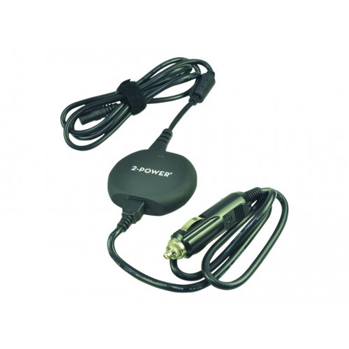 2-Power Universal - Power adapter - car - 12 V - 90 Watt