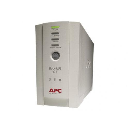 APC Back-UPS CS 350 - UPS - AC 230 V - 210 Watt - 350 VA - RS-232, USB - output connectors: 4 - beige