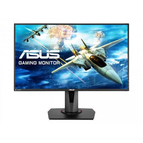 """ASUS VG278Q - LCD Computer Monitor - 27"""" - 1920 x 1080 Full HD (1080p) - TN - 400 cd/m² - 1000:1 - 1 ms - HDMI, DVI-D, DisplayPort - speakers - black"""
