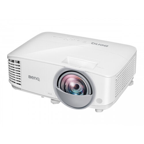 BenQ MX825ST - DLP Multimedia Projector - portable - 3D - 3300 ANSI lumens - XGA (1024 x 768) - 4:3 - short-throw fixed lens - LAN