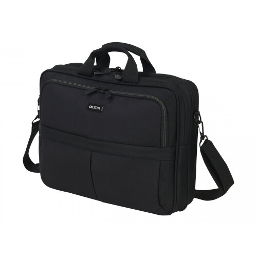 "Dicota Top Traveller SCALE - Notebook carrying case - Laptop Bag - 15.6"" - black"