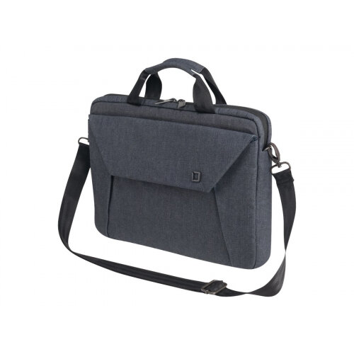 "Dicota Slim Case EDGE - Notebook carrying case - Laptop Bag - 14"" - 15.6"" - denim blue"