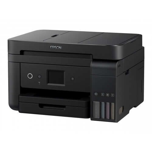 Epson EcoTank ET-4750 - Multifunction printer - colour - ink-jet - A4/Legal (media) - up to 33 ppm (printing) - 250 sheets - 33.6 Kbps - USB, LAN, Wi-Fi