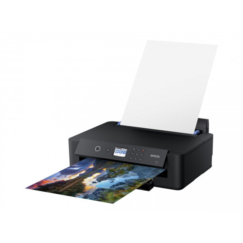 Epson Expression Photo HD XP-15000 - Printer - colour - Duplex - ink-jet - A3 - 5760 x 1400 dpi - up to 29 ppm (mono) / up to 29 ppm (colour) - capacity: 250 sheets - USB, LAN, Wi-Fi(n)