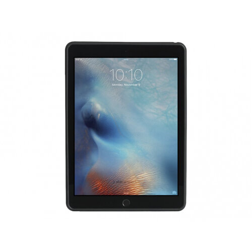 Griffin AirStrap 360 - Back cover for tablet - neoprene, polycarbonate, thermoplastic polyurethane - black - for Apple 9.7-inch iPad (5th generation); 9.7-inch iPad Pro