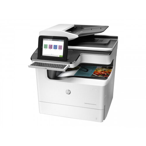 HP PageWide Enterprise Color Flow MFP 785f - Multifunction printer - colour - page wide array - 297 x 432 mm (original) - A3/Ledger (media) - up to 55 ppm (copying) - up to 75 ppm (printing) - 650 sheets - 33.6 Kbps - USB 2.0, Gigabit LAN, USB 2.0 host