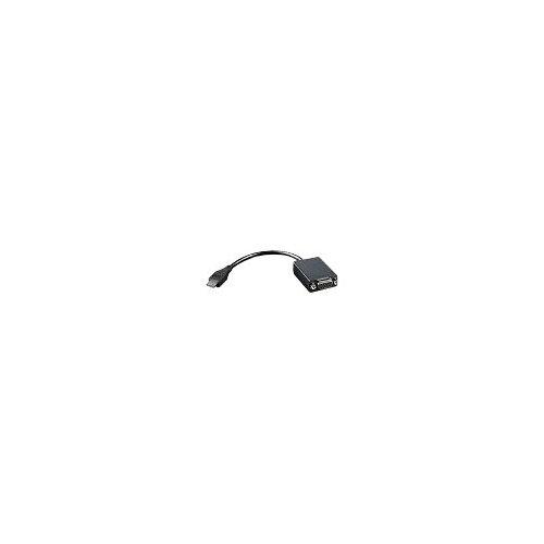 Lenovo - Video adapter - HDMI / VGA - HD-15 (F) to mini HDMI (M) - 20 cm