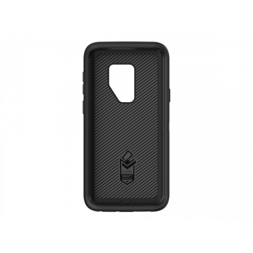 OtterBox Defender Series - Screenless Edition - back cover for mobile phone - rugged - polycarbonate, synthetic rubber - black - for Samsung Galaxy S9+