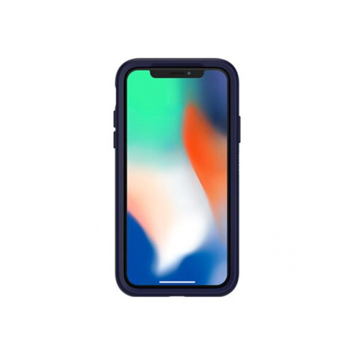 OtterBox Symmetry Series Apple iPhone X - Back cover for mobile phone - polycarbonate, synthetic rubber - mix berry jam - for Apple iPhone X