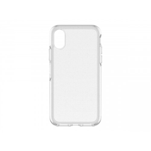 OtterBox Symmetry Series Clear Apple iPhone X - Back cover for mobile phone - polycarbonate, synthetic rubber - stardust, glitter - for Apple iPhone X