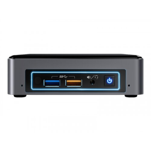 Intel Next Unit of Computing Kit NUC7i7BNKQ - Enthusiast Edition - Mini Desktop PC - 1 x Core i7 7567U / 3.5 GHz - RAM 16 GB - SSD 512 GB - Iris Plus Graphics 650 - GigE - WLAN: 802.11a/b/g/n/ac, Bluetooth 4.2 - Win 10 Home 64-bit - monitor: none